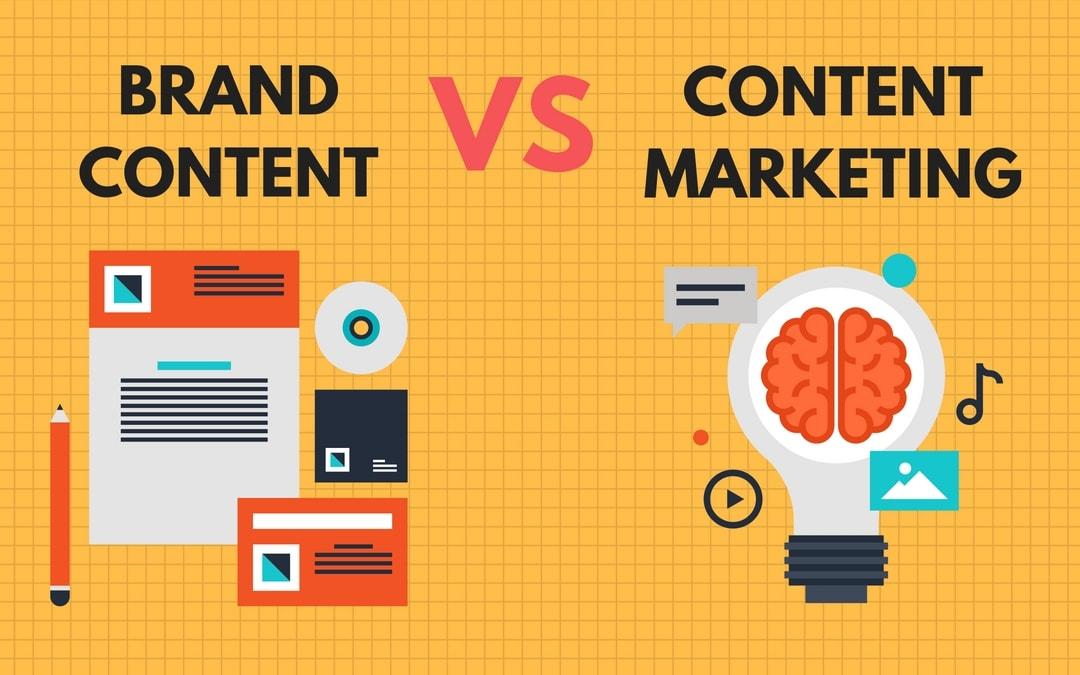"""Résultat de recherche d'images pour """"brand content et content marketing"""""""