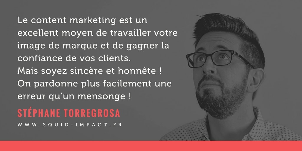 confiance clients et content marketing