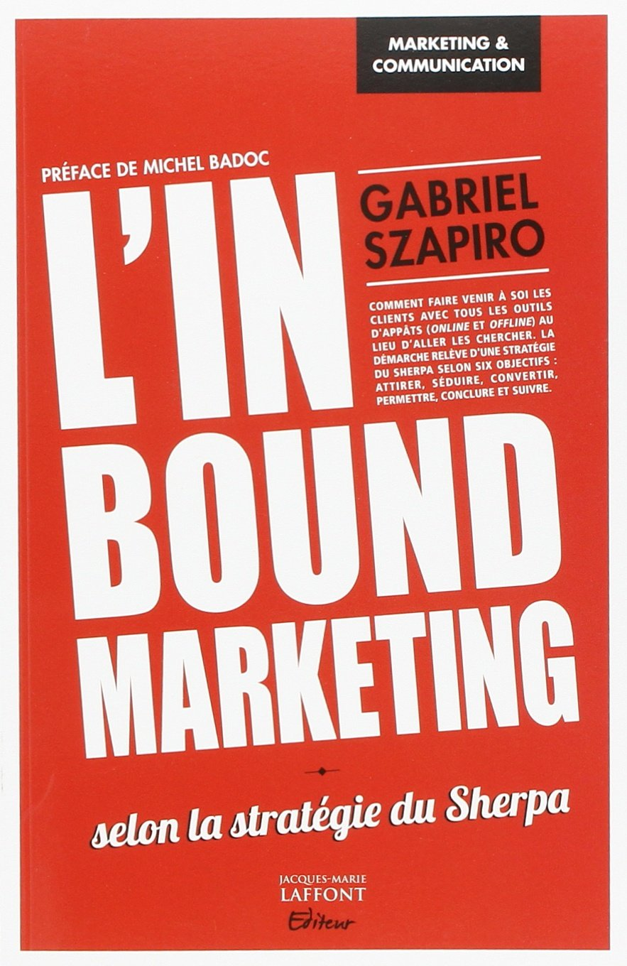 livres marketing l'inbound marketing selon la méthode sherpa