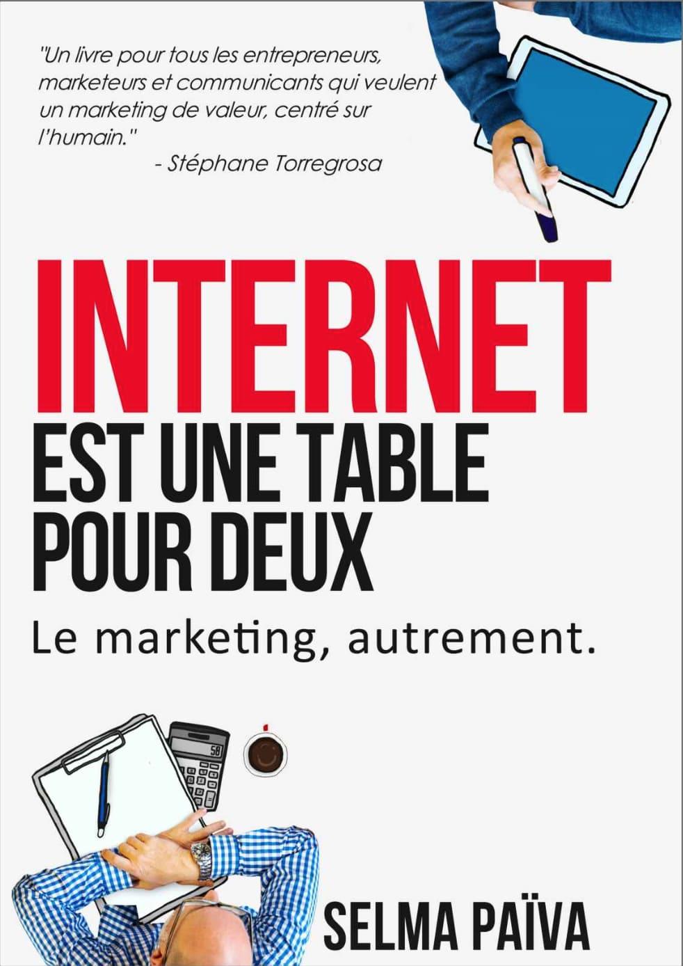 Livres marketing internet est une table pour deux
