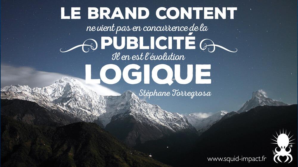 définition brand content