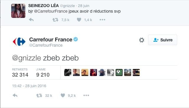 Community Manager carrefour zbeb zbeb