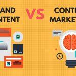Différences entre brand content et content marketing