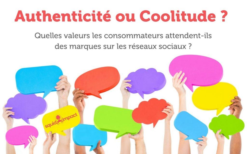 Consommateurs marques réseaux sociaux authenticité